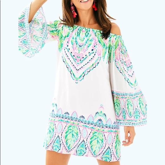 LILLY PULITZER Nevie Dress Coconut Coast XS